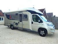 Burstner Ixeo it 734 Luxury 4 Berth Motorhome Auto Gearbox Fixed Island Bed