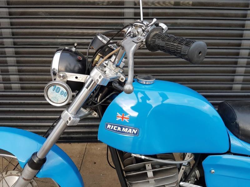 Rare Classic Rickman Zundapp 125 - UK Spec Police Bike - Road Bike 1973 |  in Southport, Merseyside | Gumtree