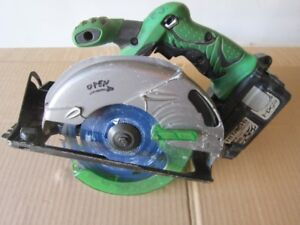 Circular cordless Hitachi saw