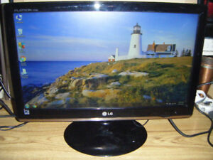 20 Inch LG Led Widescreen Monitor for sale