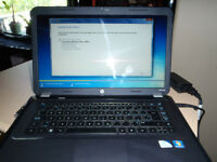 HP G6 laptop, full fresh install of widows 7, great battery