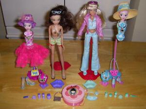 Barbies Hottiez Fashion Doll 2004 Chic Boutique de 10.5 po. Rare