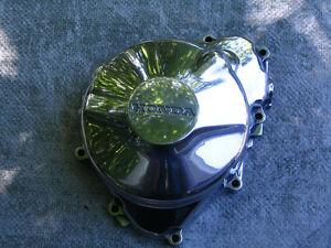 CBR F4 600 stator cover polished to a mirror finish