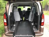 2013 Peugeot Partner Tepee Partner Tepee E HDI S A AUTOMATIC WHEELCHAIR ACCES...