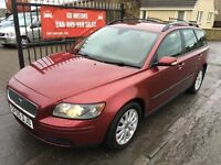 VOLVO V50 2.0 DIESEL ESTATE (05) MOT JULY 17 , WARRANTY £1495