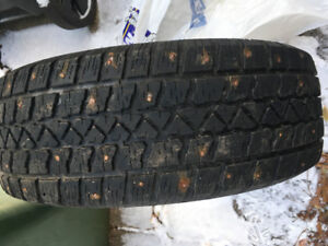 Studded Winter Tires 235/65 R16