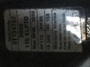 115hp mercury
