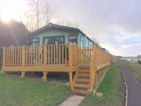 2 Bed Static Caravan situated on Lido Leisure Park with beautiful views and stunning location