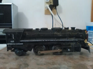 1950's Lionel and Marx electric trains and rails