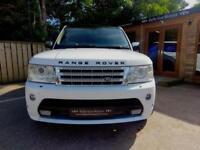 57 REG RANGE ROVER SPORT 2.7TD V6 AUTO HSE WITH AUTOBIOGRAPHY KIT IN WHITE