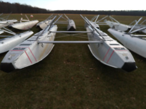 PK3500B floats with Cessna 185 rigging