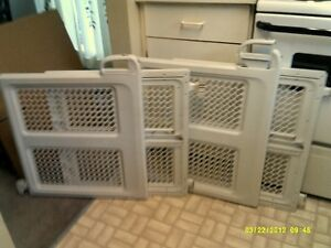 2 baby gates with hardware