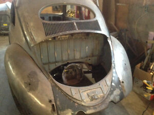 1954 Beetle (rare oval window model)