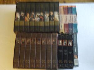 SUPER  DE 25 CASSETTES VHS DES HISTOIRES DES PAYS D'EN HAUT