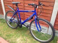 "Boys bike blue 26"" wheels used"