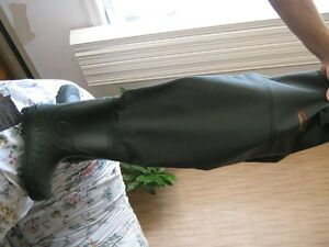 boots made by bushlite hip high size 43 eur. for fishing