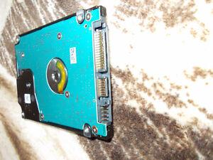laptop hard drive 320 gig toshiba