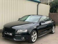 2009 09 AUDI A5 S LINE 2.0 TFSI 211 3 DOOR COUPE *FULL LEATHER* *BANG & OLUFSEN*