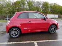 Fiat 500 1.3 MultiJet SPORT DIESEL RED WARRANTY 12 MONTHS MOT FULL SERVICE HIST