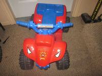Rechargeable Ride On ATV Ages 18 Months - 5Yrs