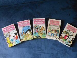 Livres jeunesse du CLUB DES CINQ pour les 6-8 ans