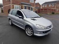2004 53 PEUGEOT 206 2.0 HDI SW QUICKSILVER ESTATE