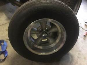 Ford Hotrod Coupe 5 spoke Wheels and Tyres Bayswater Bayswater Area Preview