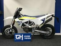 2018 HUSQVARNA 701 SUPERMOTO IN STOCK NOW AT GH MOTORCYCLES - 5.9% APR FINANCE