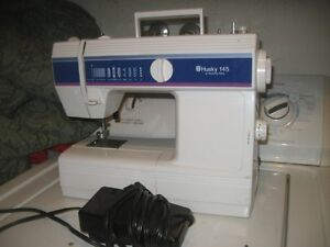EXCELLENT WORKING HUSKY 145 SEWING MACHINE.