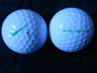 Nike PD Soft Golf Balls x 50. Pearl Condition