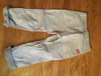 American Girl Isabelle Silver Pants for girls Size 10