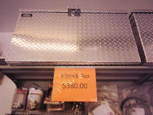3', 4', 5', & Custom Sized Aluminum Tool Box & Boxes