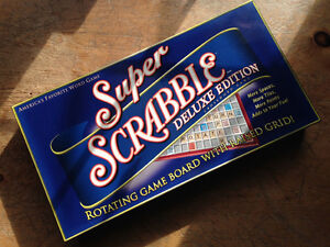 Super Scrabble with Rotating Board!