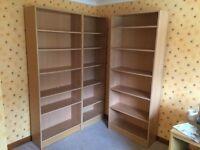 Large shelf units