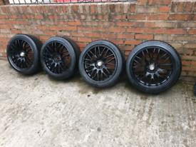 17 inch Dezent Multifit Alloy wheels 4x100/4×114.3
