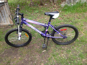 "Best offer takes it! Girls 20"" 5 speed mountain bike."