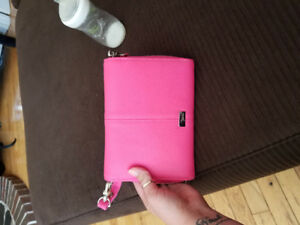 Tons of funds candy pink cross body purse brand new