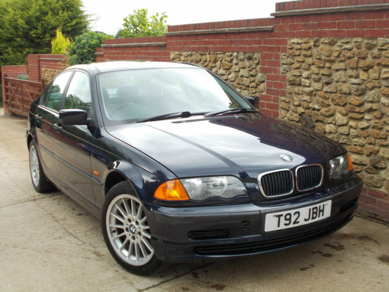 bmw 318 1 9i 1998 i blue 80k 4 door low mileage cheap drift