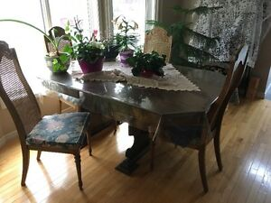 Dining Room Set with Matching Hutch
