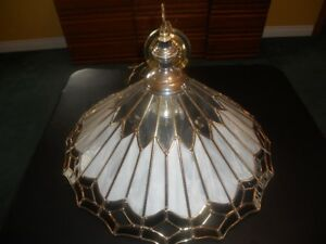 Stained Glass Hanging Ceiling Light