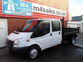 Ford Transit CREW CAB TIPPER 350 DRW 100PS
