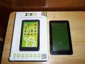 "Zeki 7"" Dual Core Tablet"