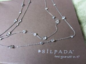 """SILPADA """"Scattered Stars"""" Necklace Cornwall Ontario image 1"""