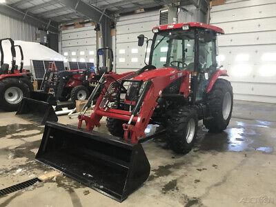 2019 TYM T554C 55hp ShuttleShift Tractor w/ Cab + Loader!