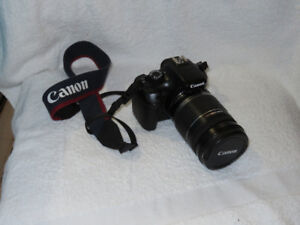 Canon T3 Camera Body and Accessories
