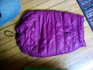 pink small dog coat