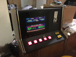 Vintage bar top coin operated video game