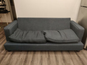 Free Couch - Like New, Missing Two Cushions.