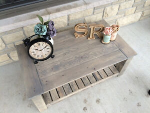 Rustic Country Chic Coffee tables with matching side tables Kingston Kingston Area image 8