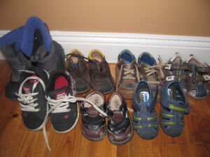 8 pairs of boys shoes!!!